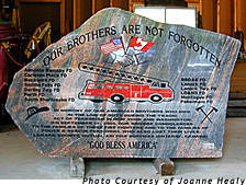 A lasting memorial to brave firefighters.